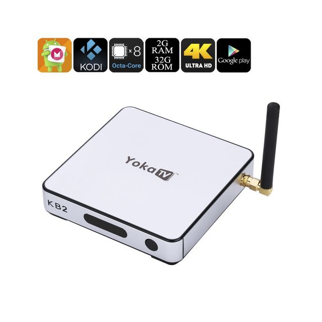 Auto-hightech smart box tv S912 Tv Box - Android 6.0, 4K, Google Play, Kodi 17.1, Octa-Core Cpu, Mali-T820MP3 Gpu