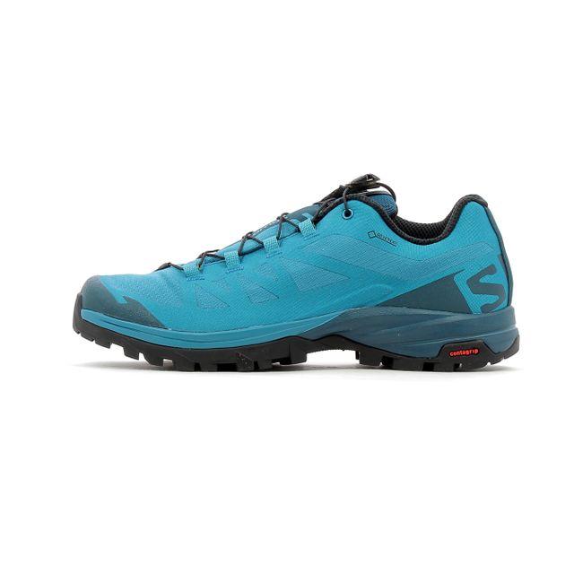 Salomon Chaussures de randonnée Outpath Gtx W Bleu pas