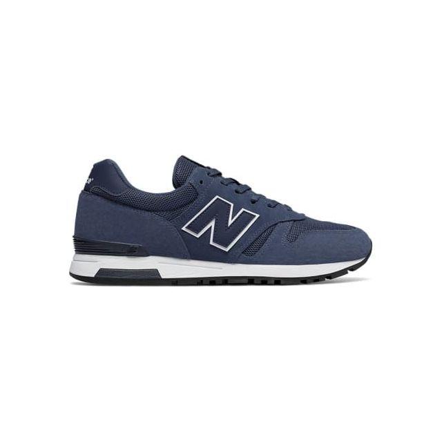 9a0118ed916 New Balance - Chaussures Ml 565 bleu foncé noir - pas cher Achat ...