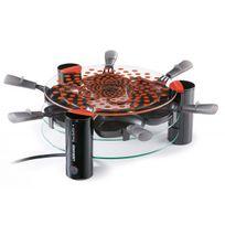 Lagrange - Raclette Vitro'Grill Transparence, 6 coupelles 009631