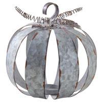 AUBRY GASPARD - Photophore citrouille métal antique