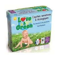 Love And Green - Love & Green - Couches Ecologiques Hypoallergéniques 0% T4+ x28