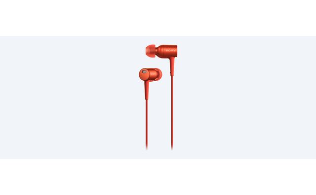 SONY Ecouteurs avec micro intra-auriculaire MDR-EX750NA anti-bruit Orange