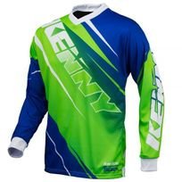 Kenny - Track Neon Green Blue