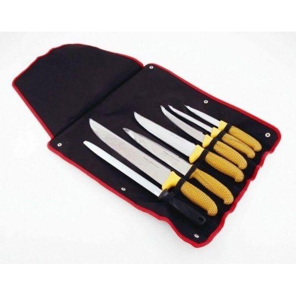 Pradel Excellence Trousse 6 couteaux de boucher + 1 fusil