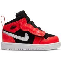 Nike Air Jordan 1 Mid BG Chaussures de Basketball Mixte Enfant