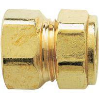 Raccords - Raccord droit femelle - Filetage 12 x 17 mm - Diam. 10 mm - Par 10