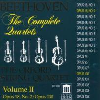 Delos - Quatuors A Cordes /VOL.2 : N°2 & 13 - Cd