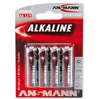 Ansmann - 4 piles alcalines Lr6/AA
