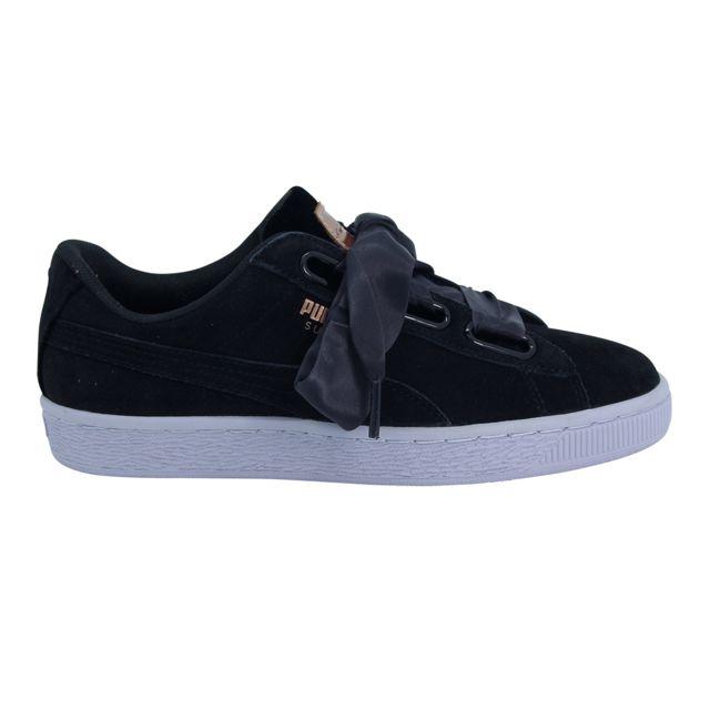 df1a2fa4e4a Puma - Wm Suede Heart Chaussures Mode Sneakers Femme - pas cher Achat    Vente Baskets femme - RueDuCommerce