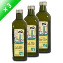 Bjorg - Huile D'Olive Vierge Extra 75Cl x3