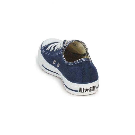 Converse - Chaussures All Star basses bleu W Tige toile, semelle intérieure textile, bout et semelle extérieure caoutchouc.