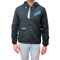 Airness - Veste coupe vent corps turquoise