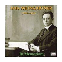 Tahra - In Memoriam Felix Weingartner