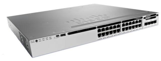 Cisco Catalyst 3850-24S-S Catalyst 3850-24S-S Commutateur C3 G&eacuteré 24 x Gigabit Sfp Ordinateur de bureau, Montable sur rack Gigabit Ethernet