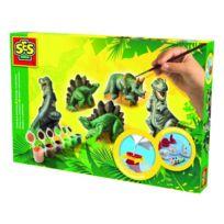 Ses Creative - Kit de moulage Dinosaures