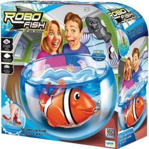 Splash toys aquarium robo fish requin bleu pas cher for Robo fish tank