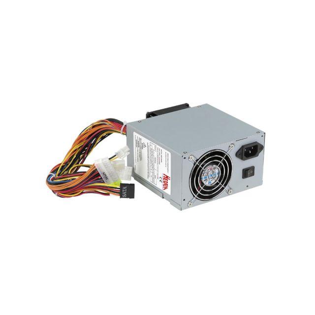HEDEN Alimentation PC 560W - Ventilateur 2x 8 cm Rue du Commerce vous propose l'alimentation PC Heden PSXA840P22. Elle fournira l'électricité pour une petite configuration type bureautique ou HTPC grâce à ses 560Watt. N'attendez plus pour l'essayer ! Son