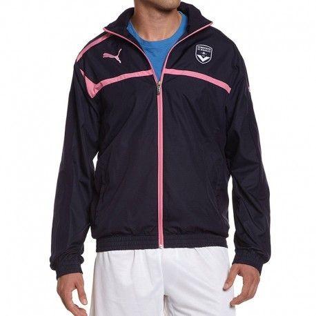 Football Puma Bleu Multicolore Bordeaux Veste Fc Girondins Homme nqpFB86