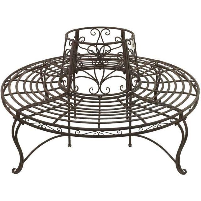 jardin banc rond. Black Bedroom Furniture Sets. Home Design Ideas