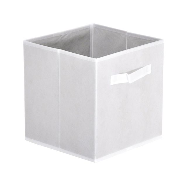 altobuy casa panier tiroir blanc pas cher achat. Black Bedroom Furniture Sets. Home Design Ideas