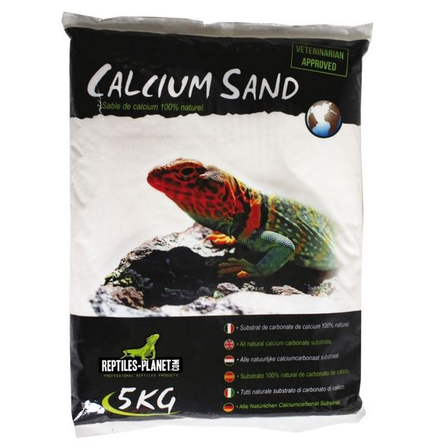 Reptiles Planet Calcium Sand Sahara Cream 5kg