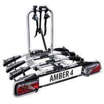 Eufab - Porte-vélos plateforme sur attelage 4 vélos Amber Iv