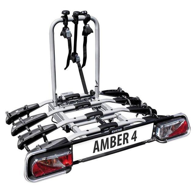 Eufab Porte Vélos Plateforme Sur Attelage 4 Vélos Amber Iv Pas
