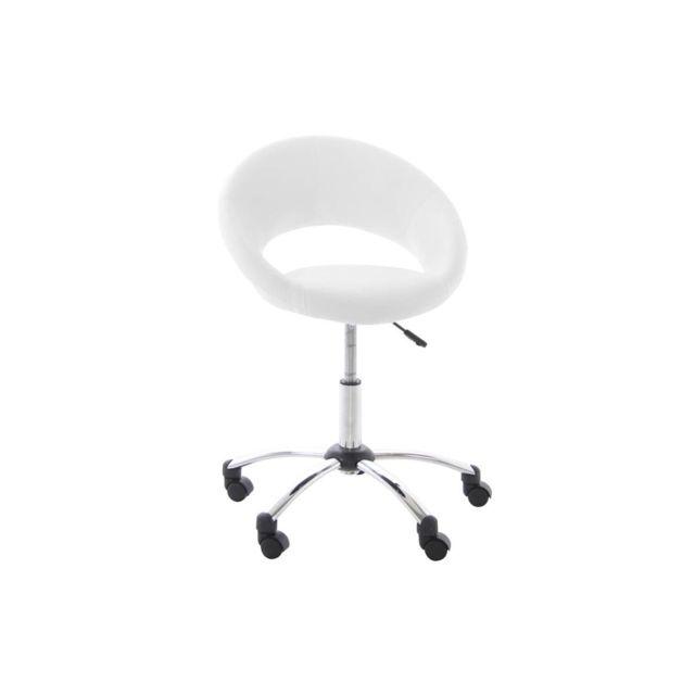 Blanc Pinto Chaise À Roulettes Design De Bureau Db9EHeWI2Y