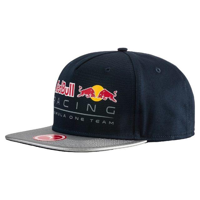 red bull casquette plate racing bleue tu pas cher achat vente casquettes enfant. Black Bedroom Furniture Sets. Home Design Ideas