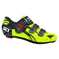 Sidi - Genius 5 Fit Noire Et Jaune Fluo Chaussures Vélo