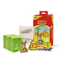 Joustra - Kit créatif : Moulage pâques lapin et cloche