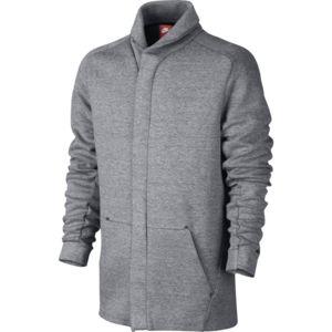 veste nike windrunner fleece gris 71368d05580b