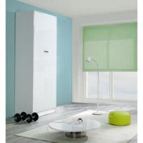 Inside 75 - Armoire lit design Kubic Blanc Mat, couchage 90 18 190 cm
