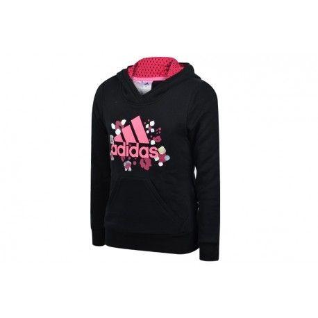 Adidas originals Yg W D Hoodie Bkf Sweat à capuche Fille