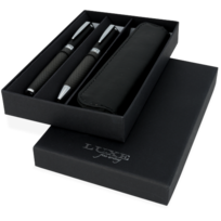 Stylx Design - Parure luxe stylo bille et roller carbone marque Luxe