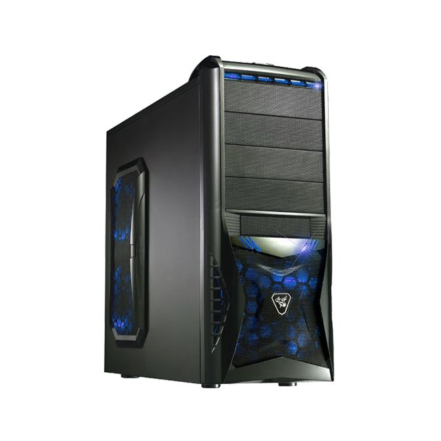 SEDATECH PC Gamer Casual Gallimimus AMD Athlon II 860K 4x3.70Ghz, Geforce GT730 1024Mo, 8Go RAM, 1000Go HDD, USB 3.0, Full HD 108