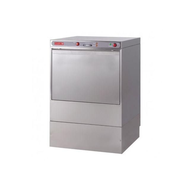 Gastro M Lave vaisselle professionnel double paroi tout inox - 230 V 220V monophase