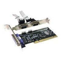 ITEC - I-tec - Adapter Parallel/Seriell - Pci - Rs-232 - 2 Anschlüsse + 1 paralleler Port
