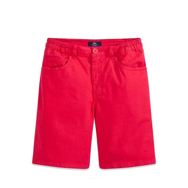 c04dac0714 Tbs - Mejber Orange Bermuda Vêtements - pas cher Achat / Vente Short femme  - RueDuCommerce