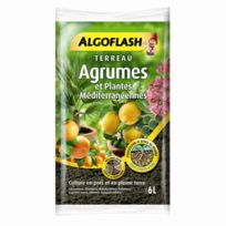 - Terreau Agrumes et Plantes Méditerranéennes Algoflash 6 L
