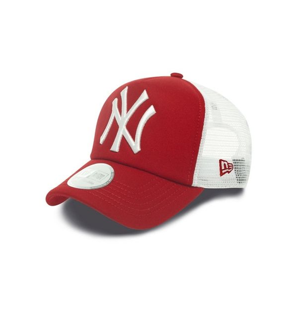 order online amazing price huge selection of New Era - Clean Trucker Neyyan Scarlet/WHITE 0825 - pas cher Achat ...