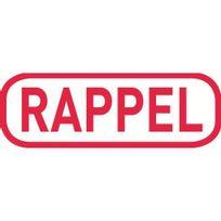 "Trodat - Tampon Printy 4992.08 Formule commerciale - ""rappel"