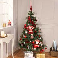 CARREFOUR - Sapin artificiel 626 branches n°7 - Vert - H 180 cm - DE61862