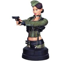 Gentle Giant - 489OF 700 - Item No.80183- Sucker Punch - Amber Deluxe Collectible Mini Bust