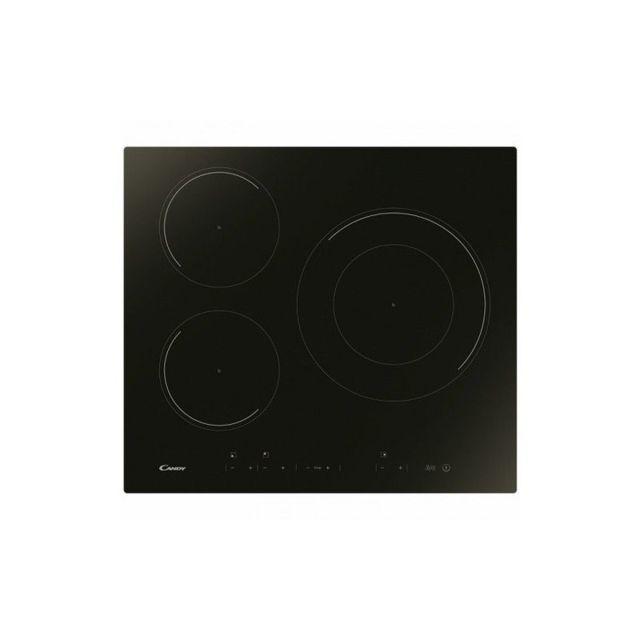 Candy Plaque à Induction Cid633DC 60 cm 7100W 3 zones de cuisson