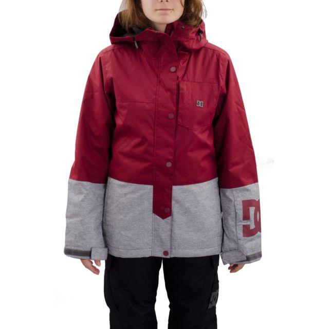 Veste snowboard femme dc shoes
