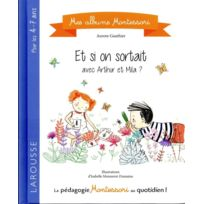 Larousse - mes albums Montessori ; si on sortait