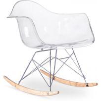 Privatefloor - Chaise à bascule Balance - Transparent Transparent