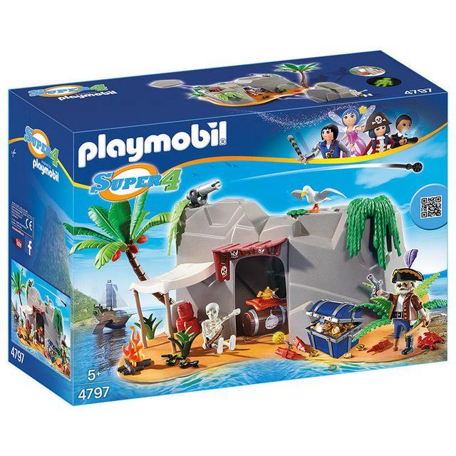 PLAYMOBIL - SUPER 4 - Caverne des pirates - 4797
